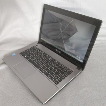 Laptop ASUS K450L 14' 4GB i3 4x1.9G 240GB SSD WIN8