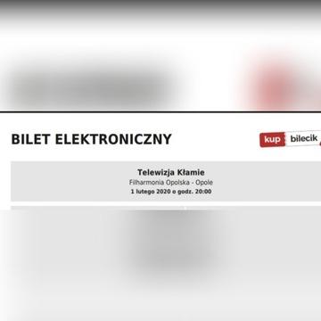 Filharmonia opolska, telewizja kłamie 01.02.2020