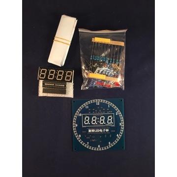 Zestaw elektroniczny zegar/termometr/ zrób to sam