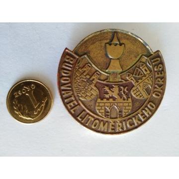 Odznaka Budovatel Litomerickeho Okresu