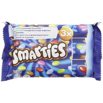Nestlé Smarties 3 sztuki