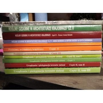 Podręcznik do Architektury Krajobrazu I-IV