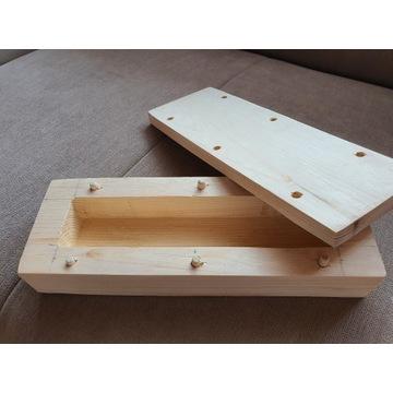 Drewniane pudełka,szkatułka