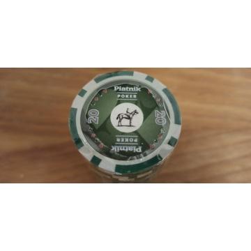 Żetony do pokera piatnik 14g, 25szt.