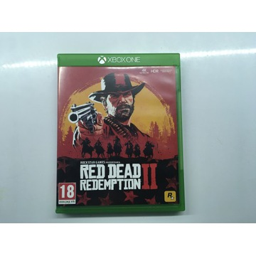 RED DEAD REDEMPTION 2 PL ENG XBOX ONE