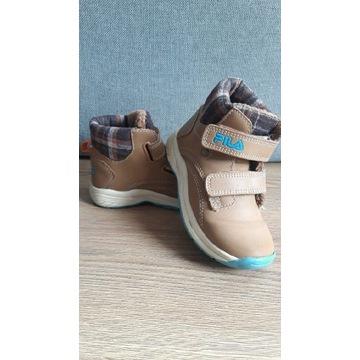 Buty zimowe dziecięce FILA r.26 wkładka 17 cm