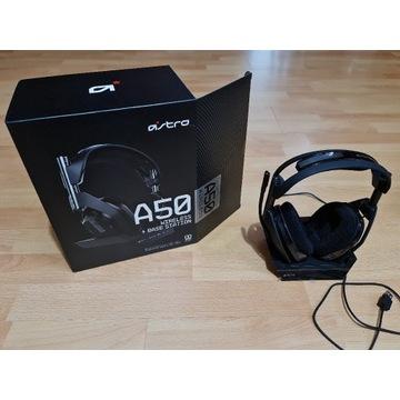 Słuchawki + stacją Astro A50 Gen.4 PC PS4 Mac