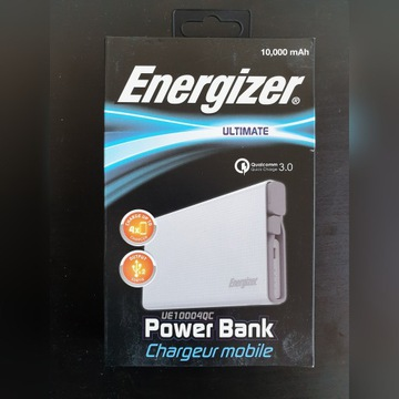 Powerbank Energizer 10.000 mAh Quick Charge 3.0