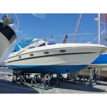 Łódź motorowa Mira 34 jacht yacht rok 2002