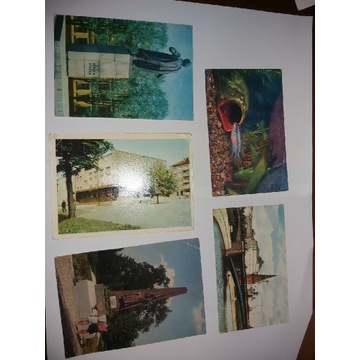 Stare rosyjskie pocztówki