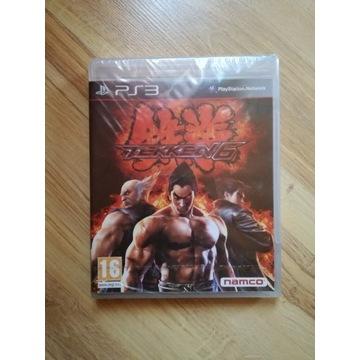 Tekken 6 / PS3 Premierowa - nowa w folii
