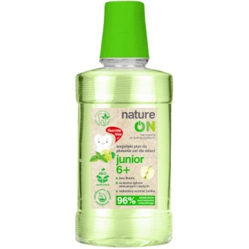 NatureOn junior 6+ płyn do płukania ust -50%