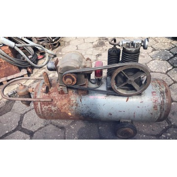 Kompresor sprężarka ze zbiornikiem
