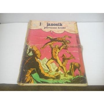 KOMIKS JANOSIK PIERWSZE KROKI cz.1 1974 wydanie 1