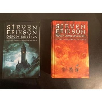 Steven Erikson Ogrody Księżyca Bramy Domu Umarłych