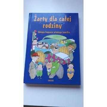 """Kawały- książka """"Żarty dla całej rodziny"""" Księga h"""