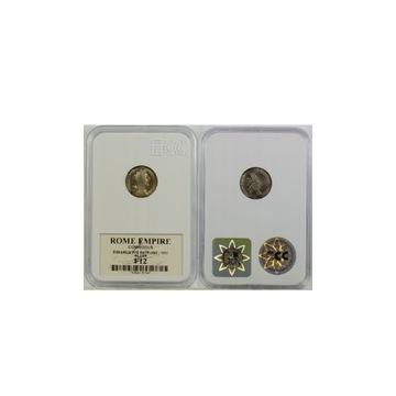 2 srebrne monety w Gradingu