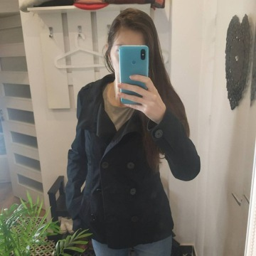 Płaszcz H&M 38, płaszczyk na wiosnę wiosna/jesień