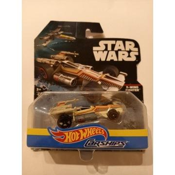 X-WING autko Hot Wheels Star Wars Carships