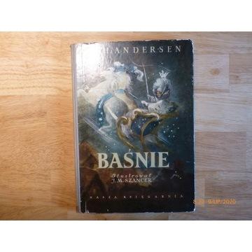 """""""Baśnie"""" Andersen wyd. 1961 rok"""