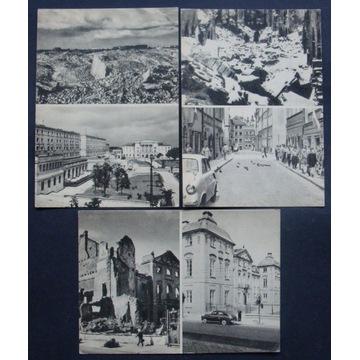 Warszawa - Piwna, Muranów, ASP - 3 pocztówki