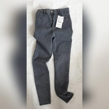 ZARA spodnie slim wysoki stan 36 super metki