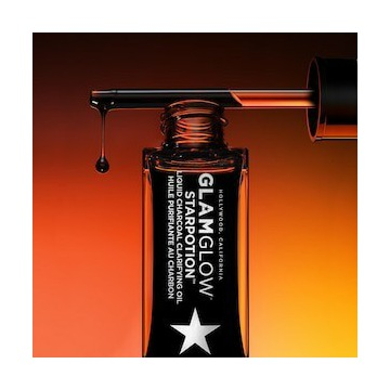 GLAMGLOW Starpotion Olej do twarzy z Węglem 30ml