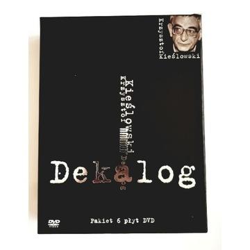 Unikat Dekalog i dodatki Kieślowski DVD box filmy