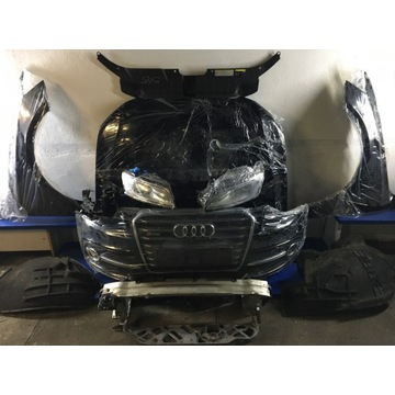 Zderzak kompletny Przód Audi SQ5 Lift 14r Czarny