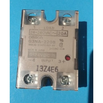 Przekaźnik półprzewodnikowy OMRON G3NA-220B