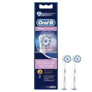 Oral-B, Końcówki Sensi Ultra Thin EB60, 2 sztuki