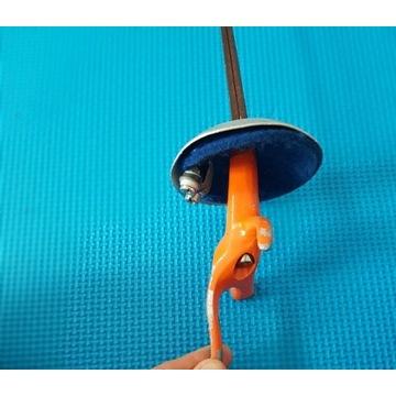 Floret elektryczny belg prawy klinga 0 dziecięcy