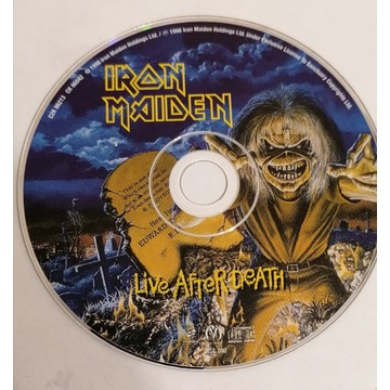 Iron Maiden - Live after death 2CD