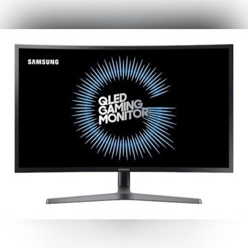 Samsung Monitor 32 cale, Curved QLED 144hz WQHD