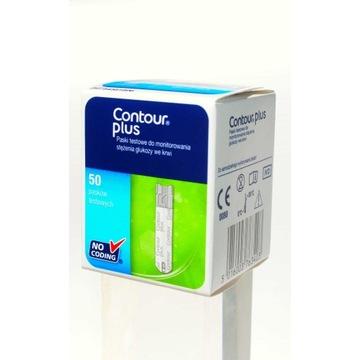 Contour Plus paski kontrolne 50szt. nowe, sterylne