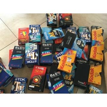 Zestaw kaset VHS - 14 sztuk