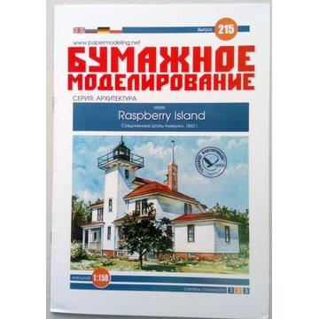 Latarnia morska Raspberry Island, BM, 1:150