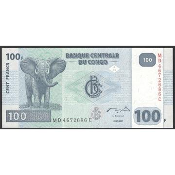 Kongo 1000 franków 2007