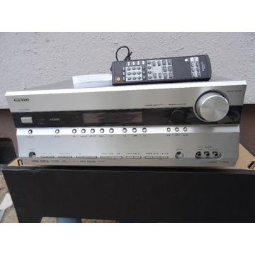 Amplituner ONKYO TX-SR606 + pilot + papiery