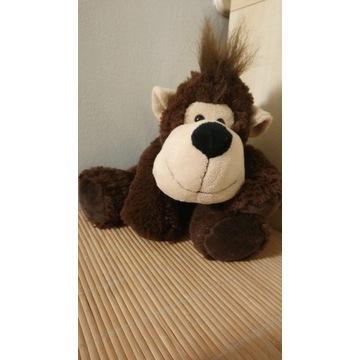 Maskotka małpka przytulanka