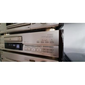 SONY CD CDP X559ES. Unikat. Jak Nowy Pilot RM D891