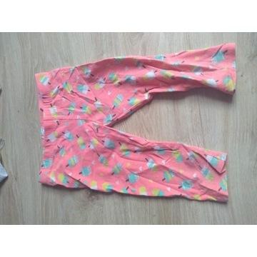 Ubrania letnie legginsy 3/4 rozm 92/98