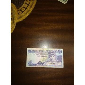 Brunei 1 dolar 1989