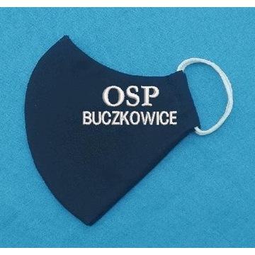 Maseczka z haftem dla OSP, Straży, Policji