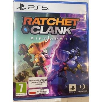 RATCHET & CLANK RIFT APART PS5 PL DUBBING NOWA