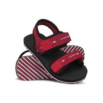 Sandały Lacoste sandałki SOL 220 rozmiar 30.5