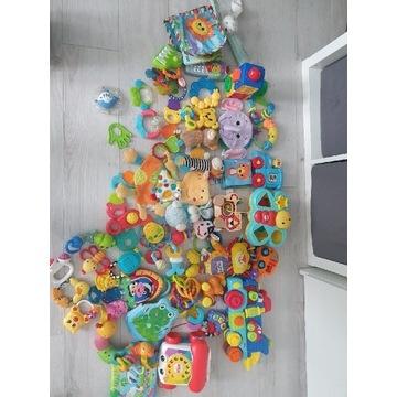 Zestaw zabawek niemowlecych