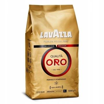 LAVAZZA Kawa Ziarnista Włoska - Qualita Oro - 1kg