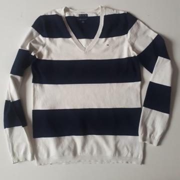 Oryginalny damski swetr sweterek Tommy Hilfiger M