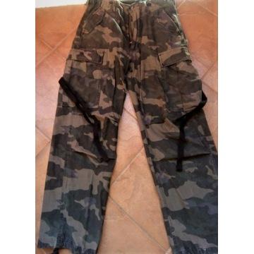 Spodnie bojówki M65 Brandit black camo
